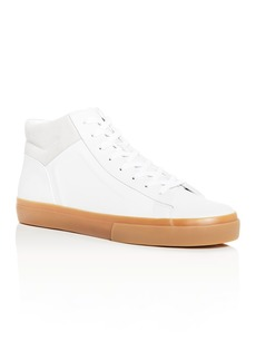 Vince Men's Fynn Leather High-Top Sneakers