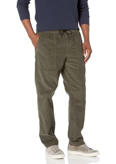 Vince Men's Micro Cord Pull ON Pant FROG EXTRA LARGE