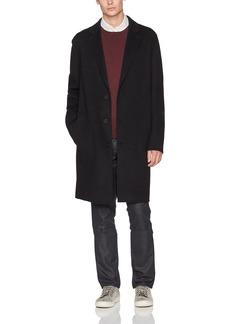 Vince Men's Notch Lapel Overcoat  L