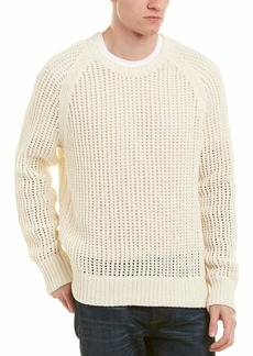 Vince Men's Open Weave Crew Off