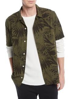 Vince Men's Palm Leaf Cabana Shirt