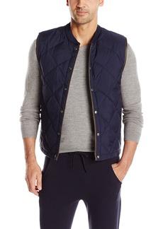 Vince Men's Quilted Down Liner Vest