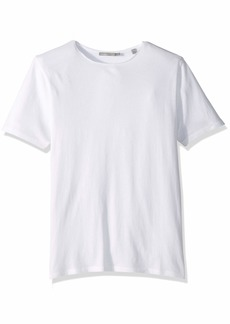 Vince Men's Raw Edge Cotton Short Sleeve Tee  S