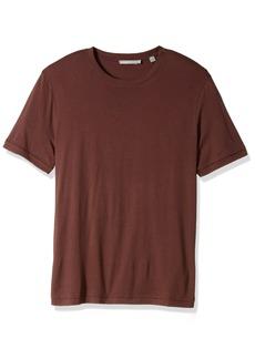 Vince Men's Raw Edge Short Sleeve Crew Neck T-Shirt  L