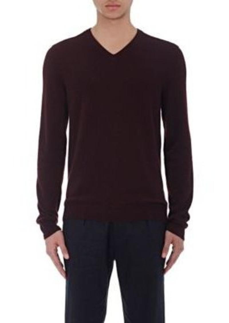 Vince. Men's Reverse-Seam V-Neck Sweater