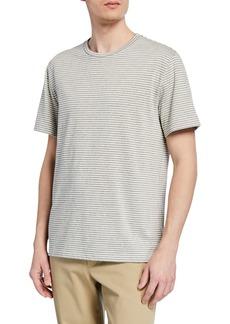 Vince Men's Shadow Stripe Crewneck T-Shirt