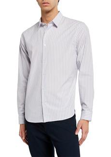 Vince Men's Shadow Stripe Sport Shirt