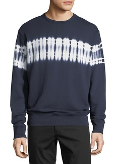 Vince Men's Shibori Tie Dye Sweater