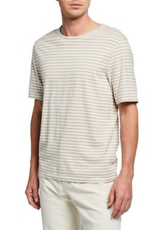 Vince Men's Short-Sleeve Stripe T-Shirt