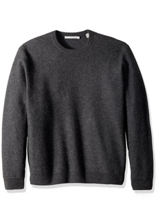 Vince Men's Simmered Cashmere Oversized Crew Neck Sweater  XL