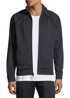 Vince Men's Solid Jersey Track Jacket