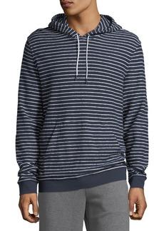 Vince Men's Texture Stripe Hoodie