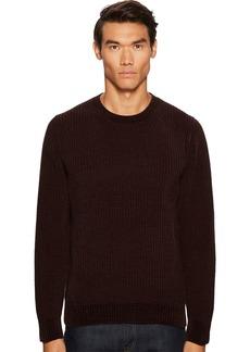 Vince Men's Velvet Ribbed Crew Neck Sweater  XXL