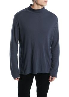 Vince Men's Waffle-Knit Cotton Turtleneck Sweater