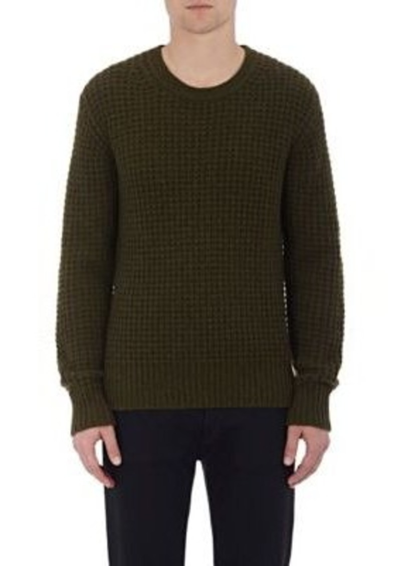 Vince. Men's Waffle-Stitched Sweater
