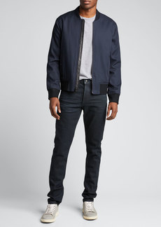 Vince Men's Zip-Front Bomber Jacket