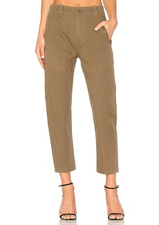 Vince Military Pant in Olive. - size 2 (also in 4,6)