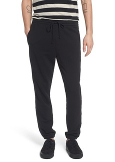 Vince Mix Media Regular Fit Cotton Sweatpants