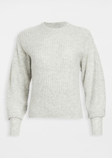 Vince Mixed Stitch Dropper Shoulder Pullover