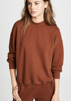 Vince Mock Neck Pullover Top