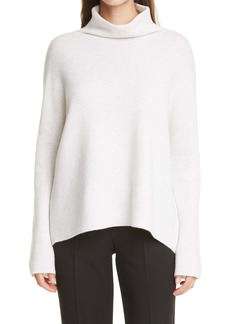 Vince Mock Neck Stretch Wool & Cashmere Sweater