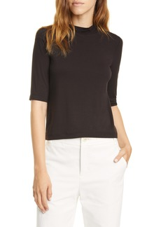 Vince Mock Neck Top