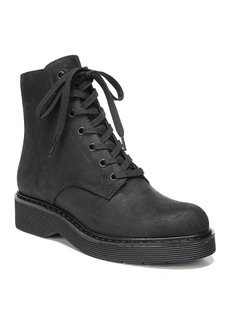 Vince Monastir Leather Lace Up Combat Boots
