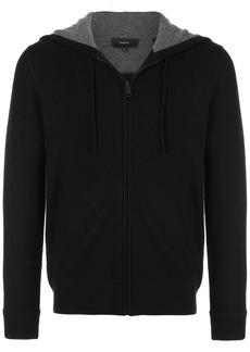 Vince cashmere plain hoodie