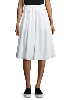 Vince Multi Pleated Skirt