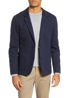 Vince Navy Cotton Sport Coat