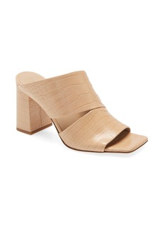 Vince Nelda Square Toe Slide Sandal (Women)
