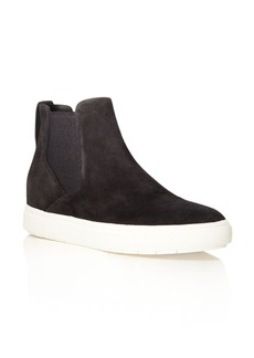 Vince Newlyn High Top Slip-On Sneakers