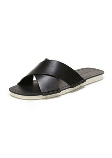 Vince Nico Flat Crisscross Slide Sandal