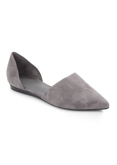 Vince Nina Leather DOrsay Flats