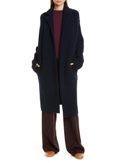 Vince Notch Collar Cardigan Coat