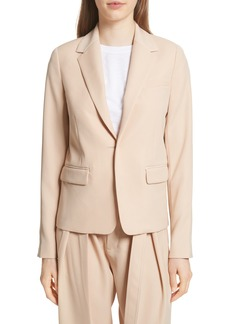 Vince One-Button Blazer