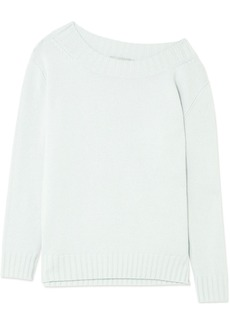 Vince One-shoulder wool and cashmere-blend sweater