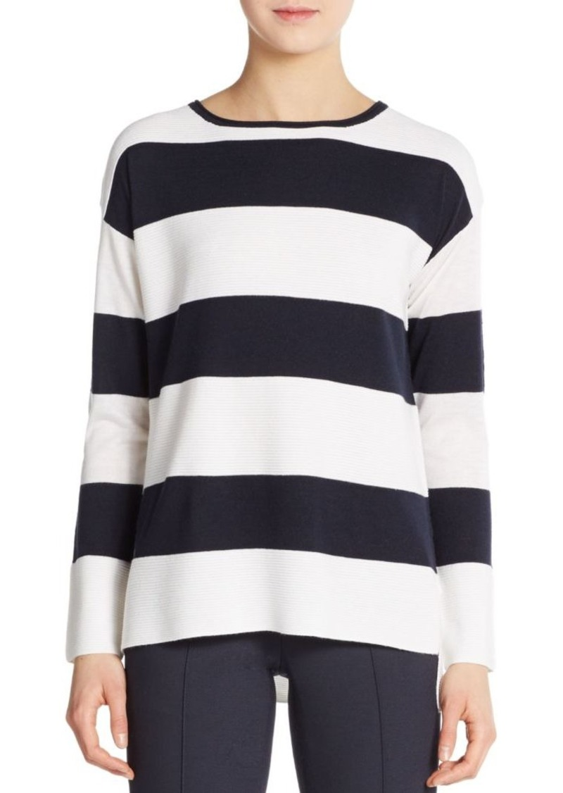 Vince Ottoman Striped Sweater