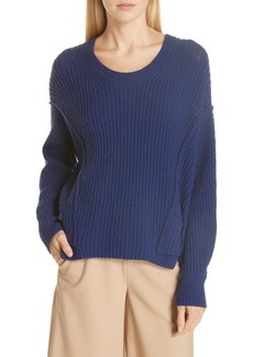 Vince Overlap Panel Sweater