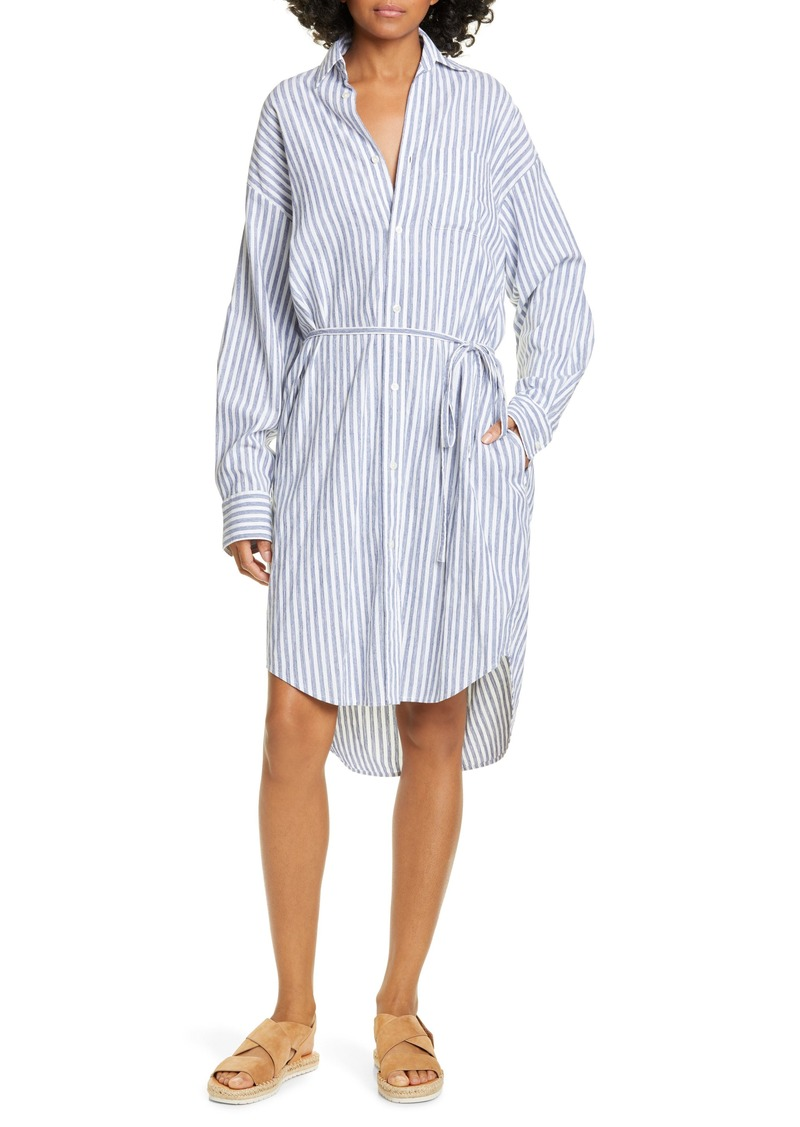 Vince Oversize Stripe Shirt