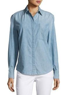 Vince Oversized Chambray Shirt