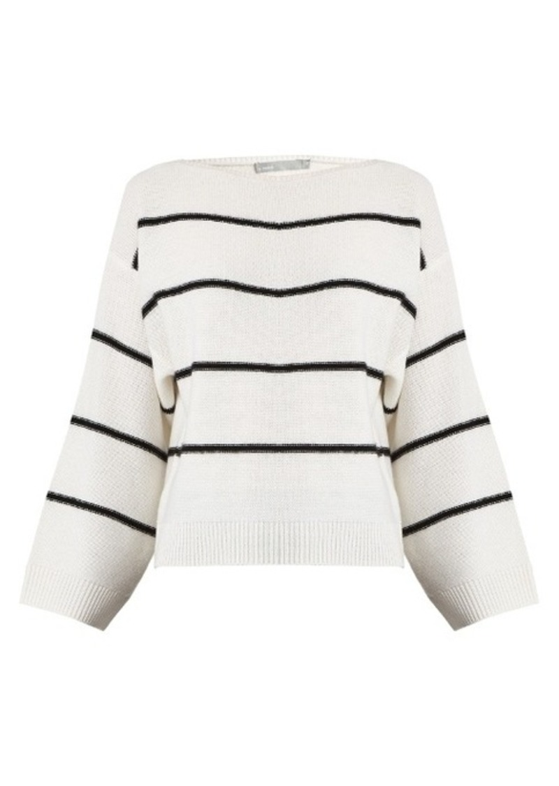 0f13869bc891 Vince Vince Oversized striped cashmere sweater | Sweaters