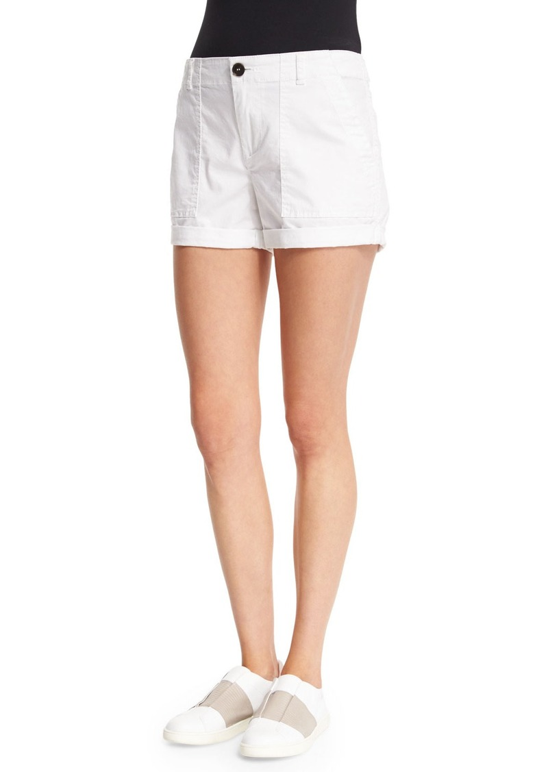 Vince Patch Mid-Rise Shorts