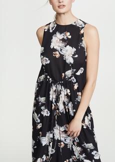 Vince Peony Print Dress
