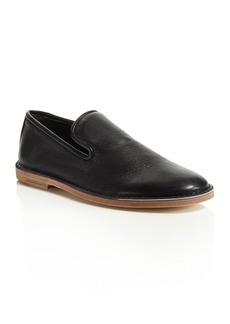 Vince Percell Leather Smoking Flats