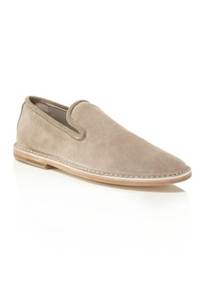 Vince Percell Suede Smoking Flats
