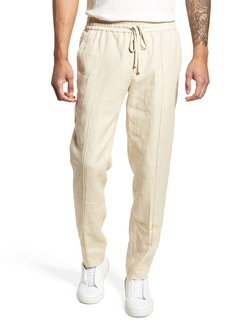 Vince Pintuck Slim Fit Hemp Track Pants