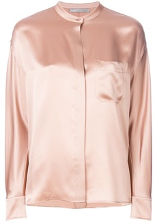 Vince placket blouse - Nude & Neutrals