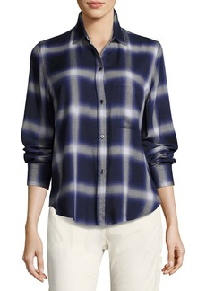 Vince Plaid Utility Shirt