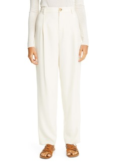 Vince Pleat Front Tapered Pants
